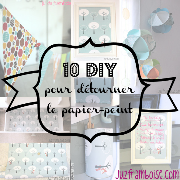 id es diy avec du papier peint creacoton blogcreacoton blog. Black Bedroom Furniture Sets. Home Design Ideas
