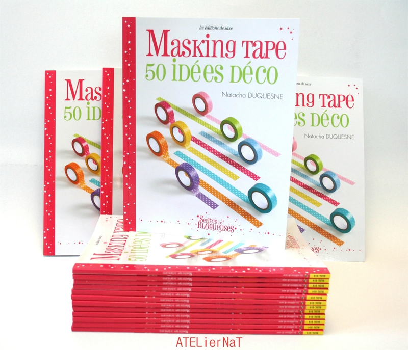 masking tape 50 id es d co le livre gagner creacoton blogcreacoton blog. Black Bedroom Furniture Sets. Home Design Ideas