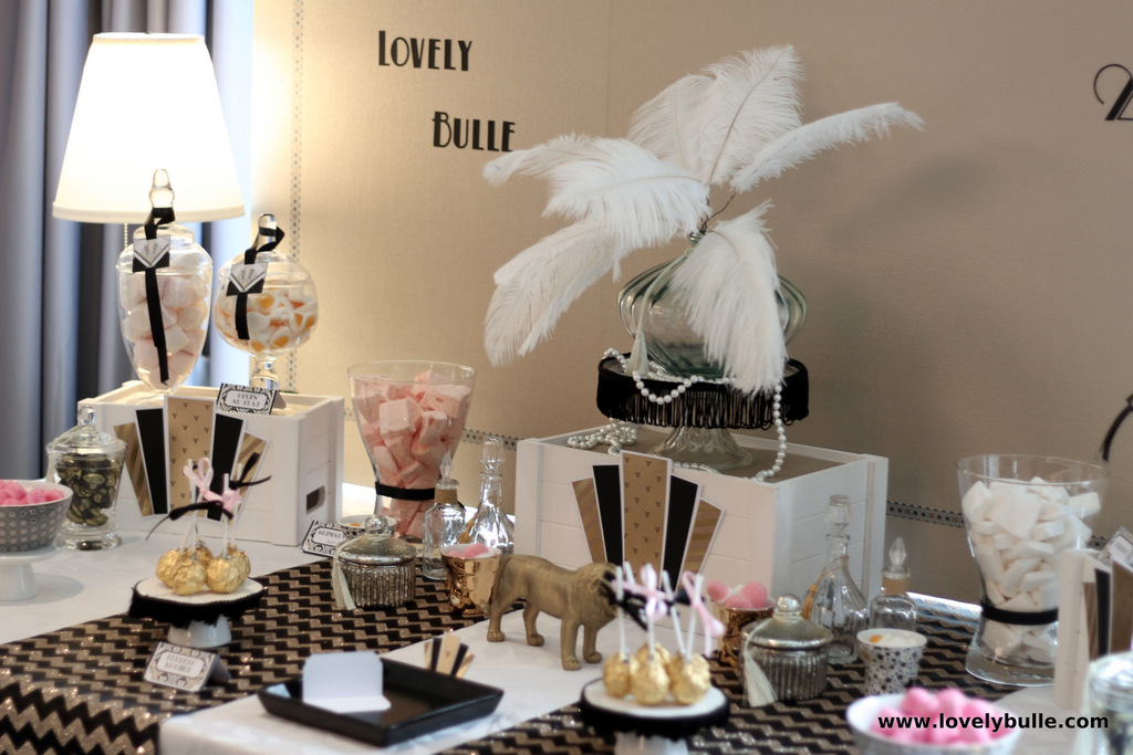 lovely bulle 20s party 2015 candy bar tribu de filles (3)