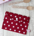 pochette range serviette de table Rouge Creacoton (1)