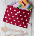 pochette range serviette de table Rouge Creacoton (2)
