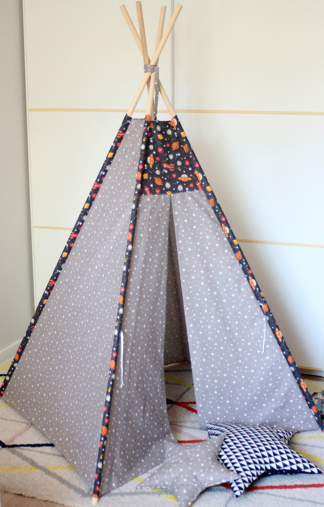 tipi pour chambre d 39 enfant fus e creacoton. Black Bedroom Furniture Sets. Home Design Ideas