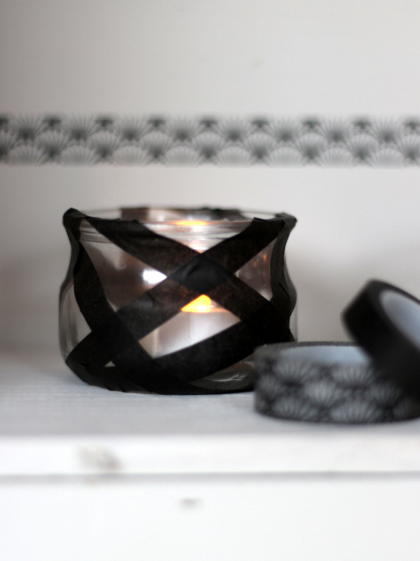 creacoton_DIY_halloween_candle_holder_washi_tape