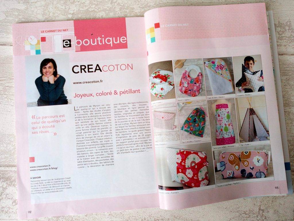 article Creacoton magazine coudre c est facile septembre 2017 (1)