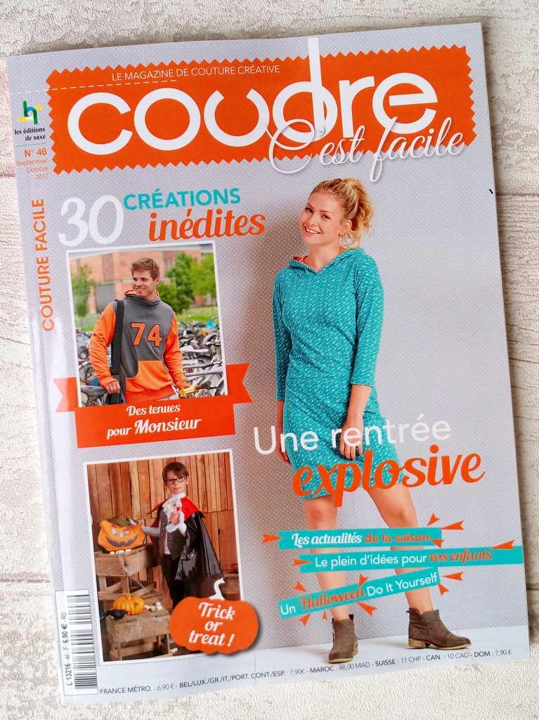 article Creacoton magazine coudre c est facile septembre 2017 (4)