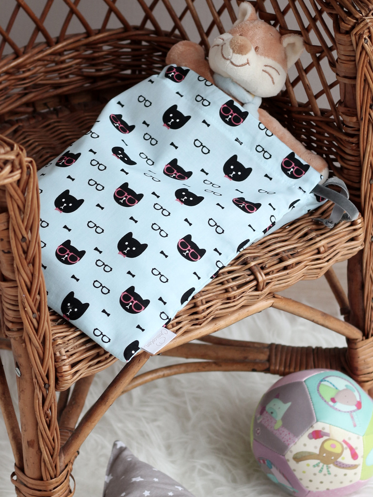 creacoton sac a doudou cool cat (1)