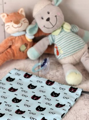 creacoton sac a doudou cool cat (2)