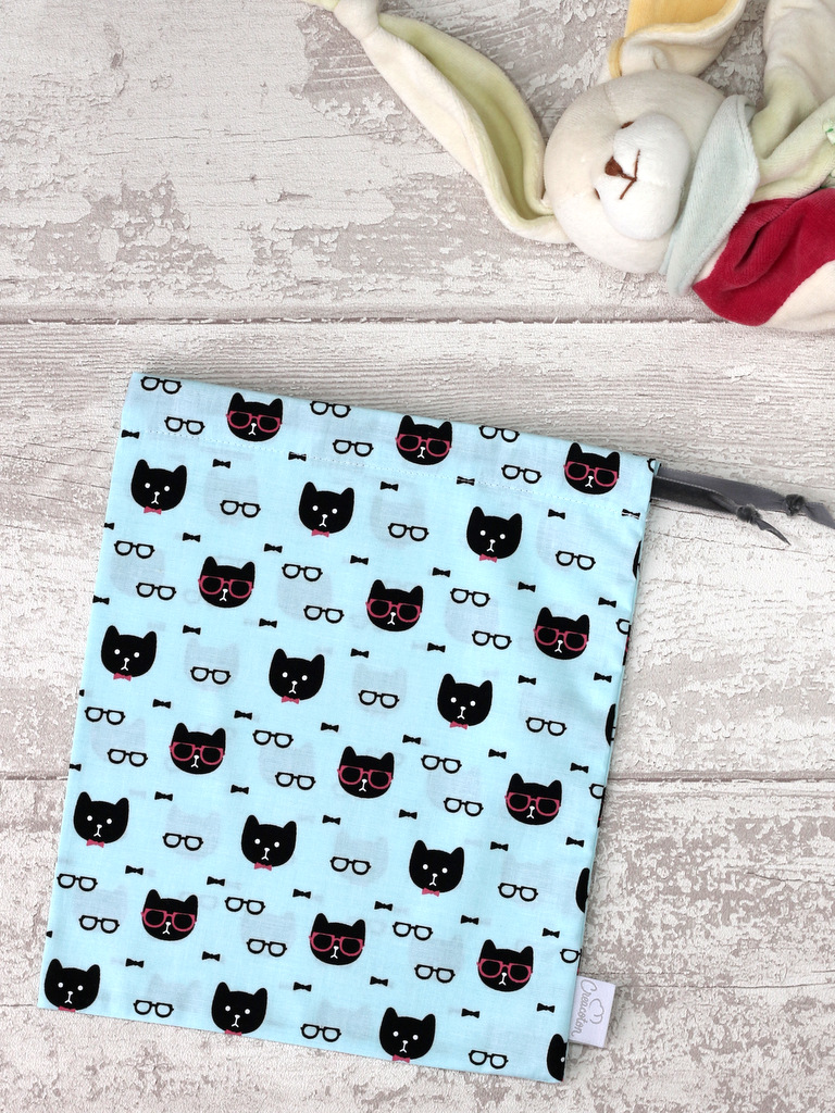 creacoton sac a doudou cool cat (4)