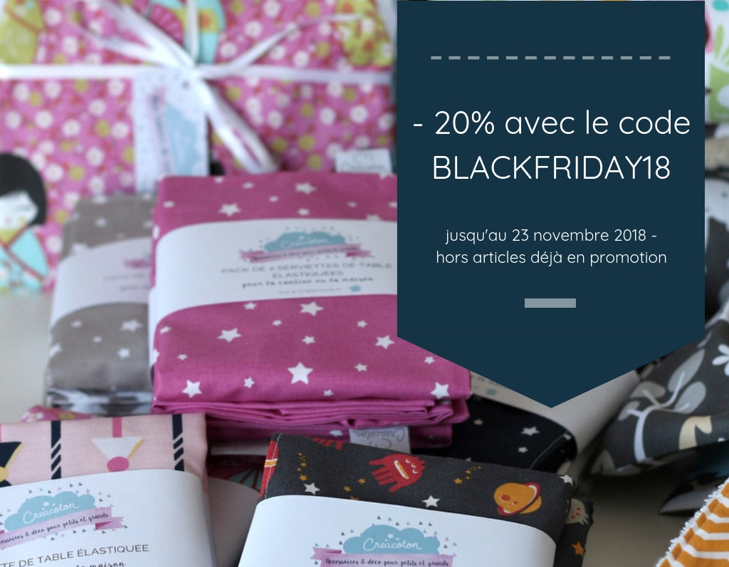 image semaine black friday Creacoton