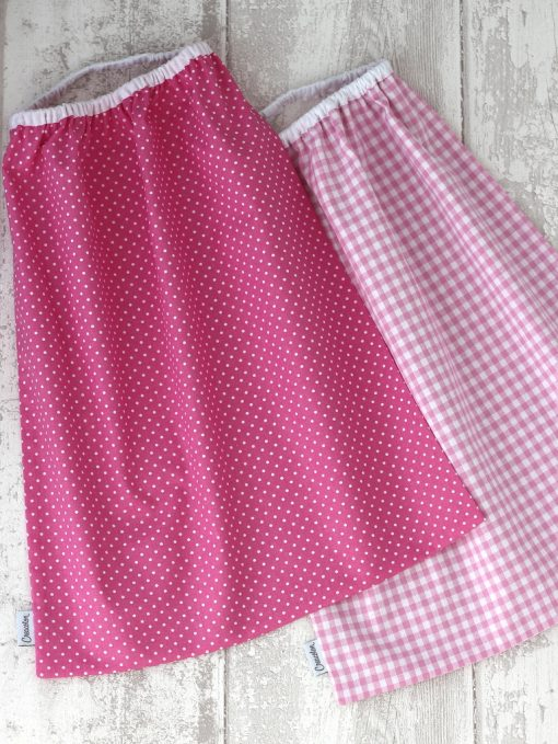 Pack 2 Serviettes de table enfant Pink Creacoton