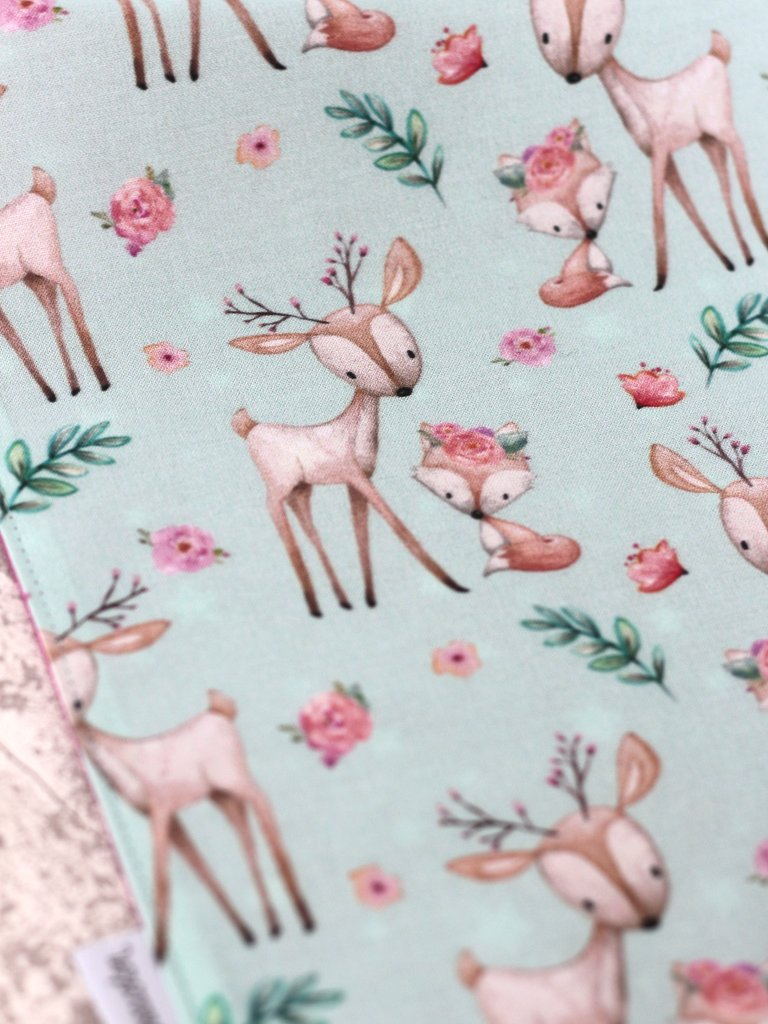 serviette table enfant Biche Creacoton (2)