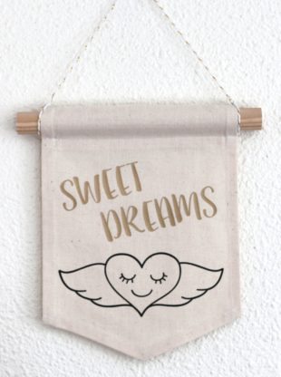 fanion decoratif sweet dreams Creacoton (1)