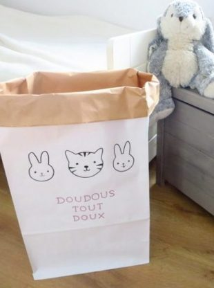 Kit DIY enfant paperbag a customiser Lovely Bulle (3)