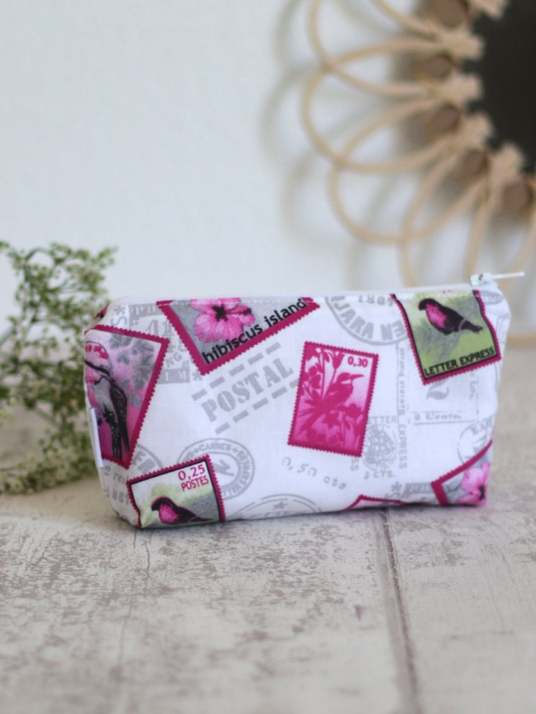 trousse Hibiscus Creacoton made in France